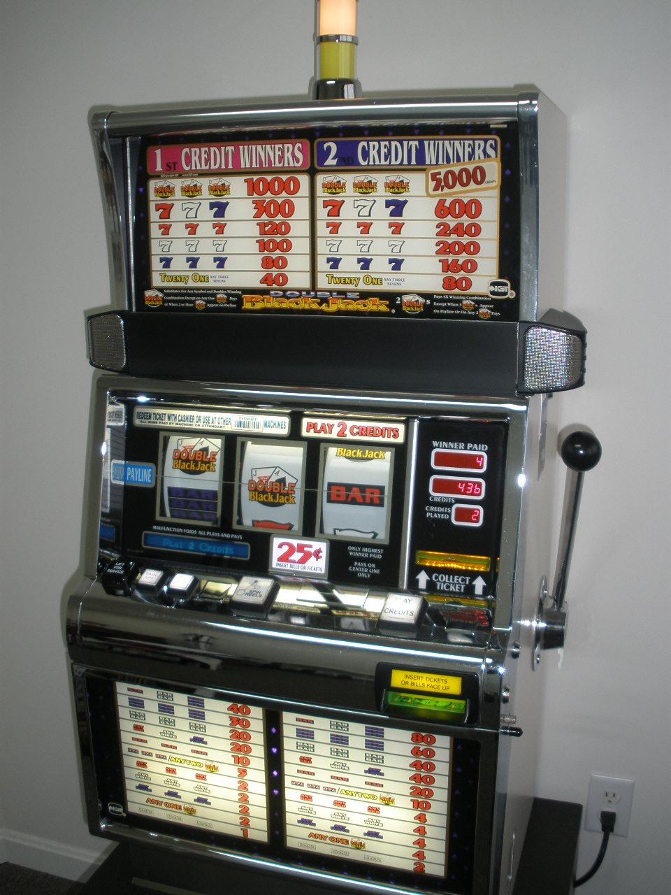 Prezzi slot machine usate