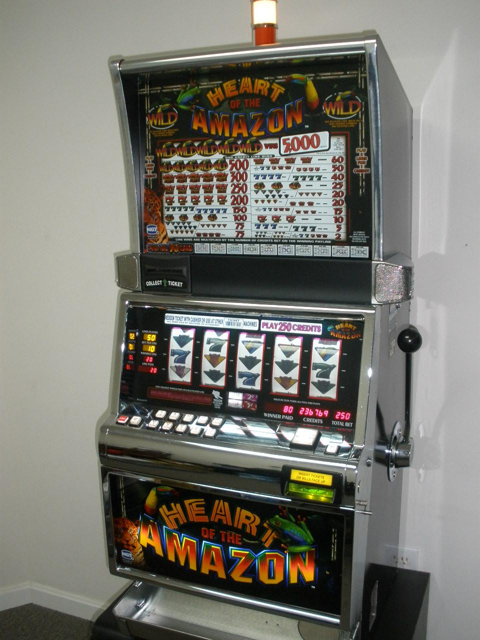Slot machines for sale michigan