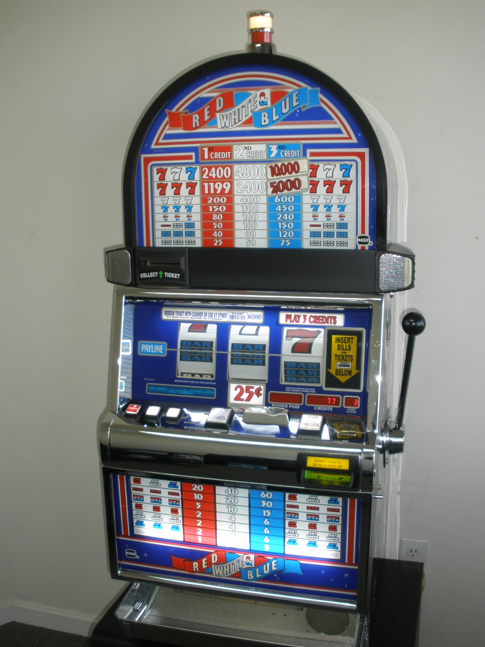 Red White And Blue Slot
