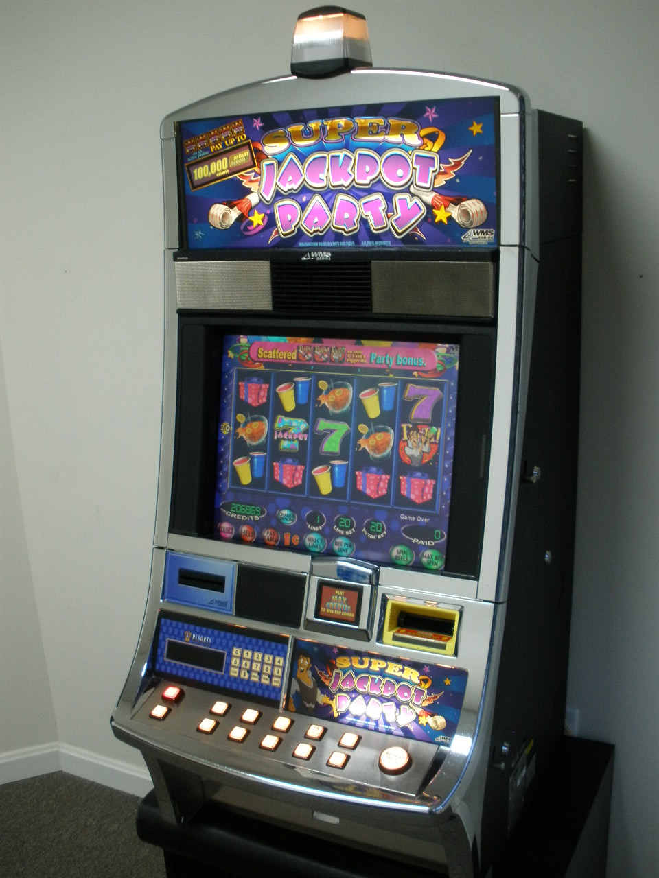 Super Jackpot Party Slot Machine For Sale