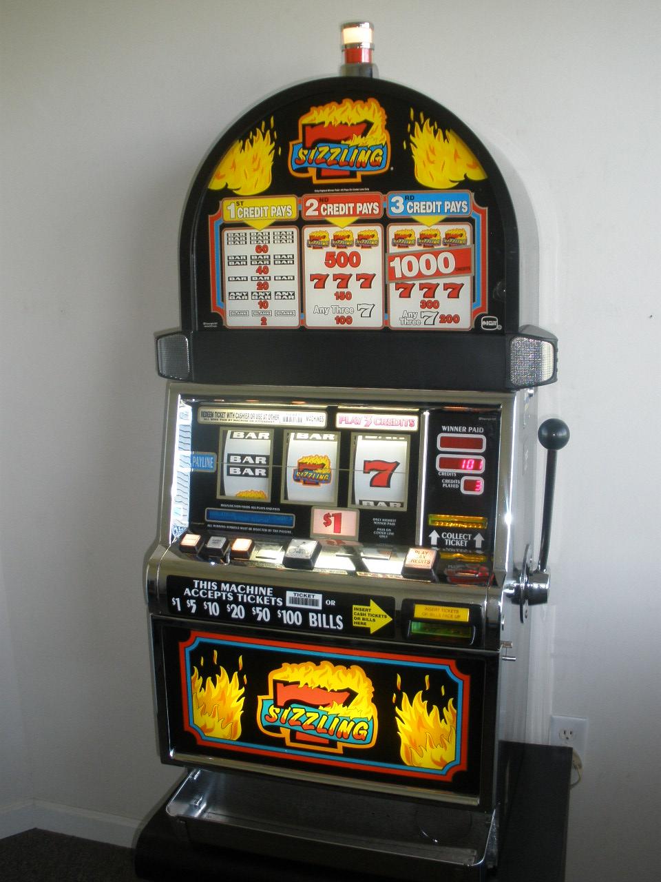 Sizzling 7 Slot Machine Odds