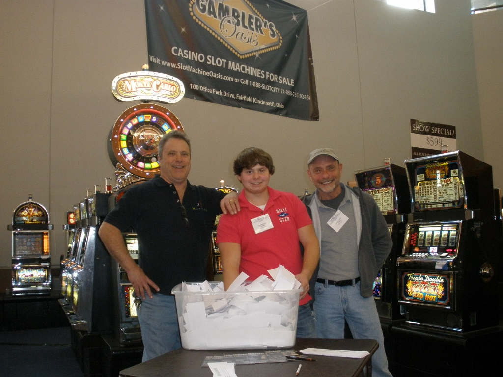 Home & Garden Show 2014 - Drawing to Win a Bally Monte Carlo Spin & Win