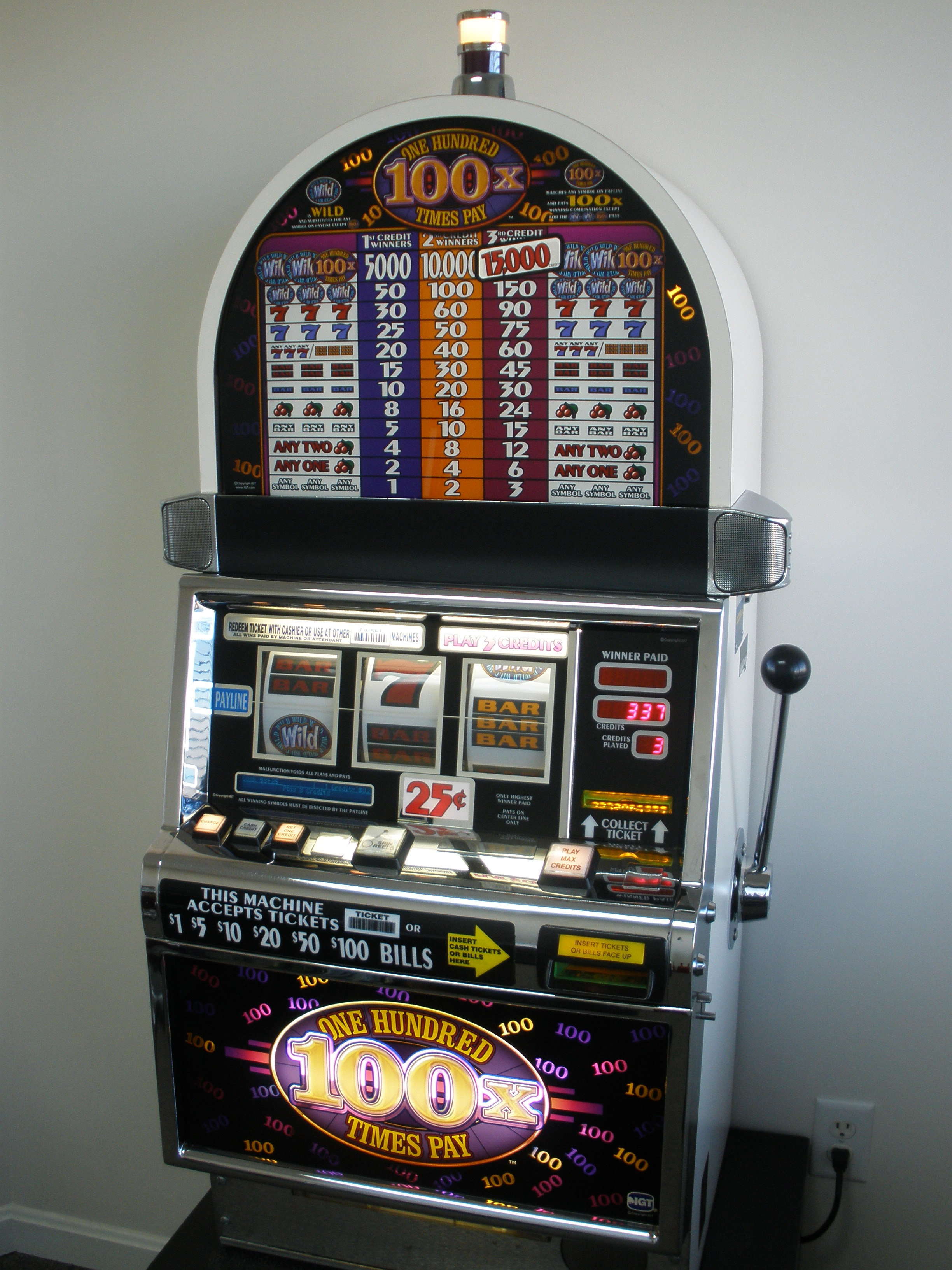 IGT Three Reel Slot Machines