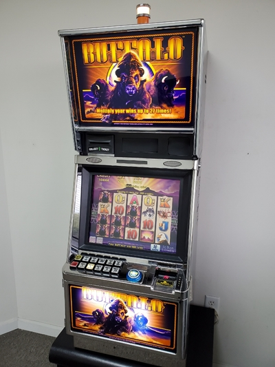ARISTOCRAT BUFFALO EXTRA REEL POWER VIDEO SLOT MACHINE