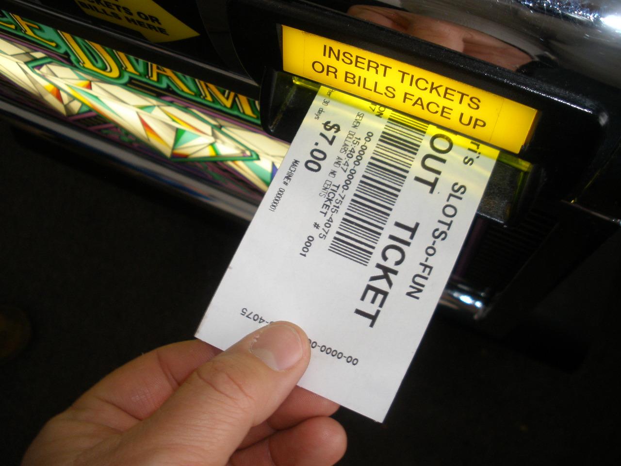 Slot Machine Cash Out Ticket Printer Paper