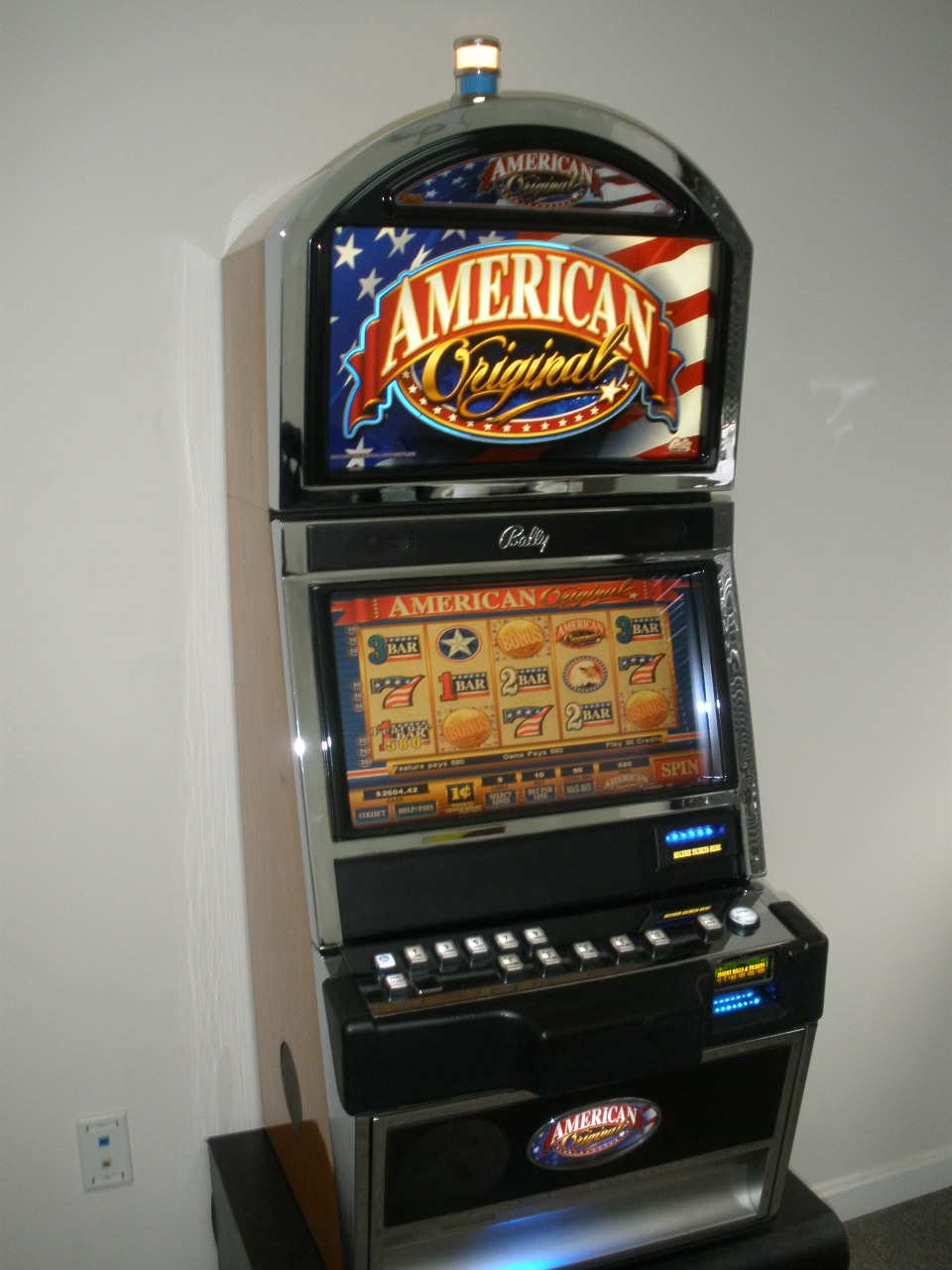 Bally Poker Machine