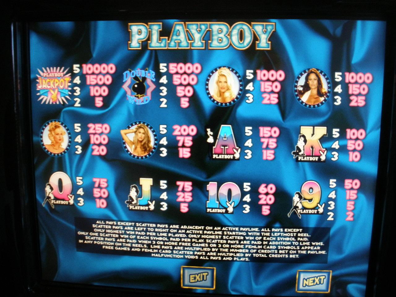 Free Playboy Slot Machine Games