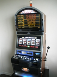 Bally Quick Hit Jackpot White Fire S9000 Slot Machine with Top Bonus Monitor