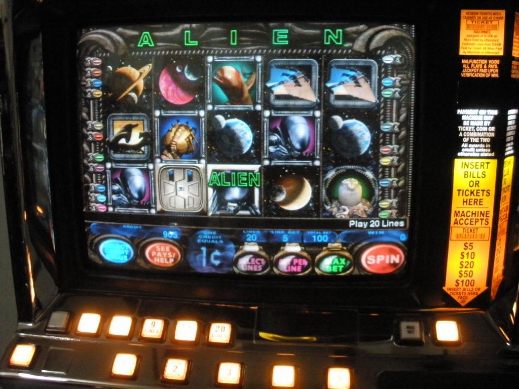 Alien Slot Machine For Sale