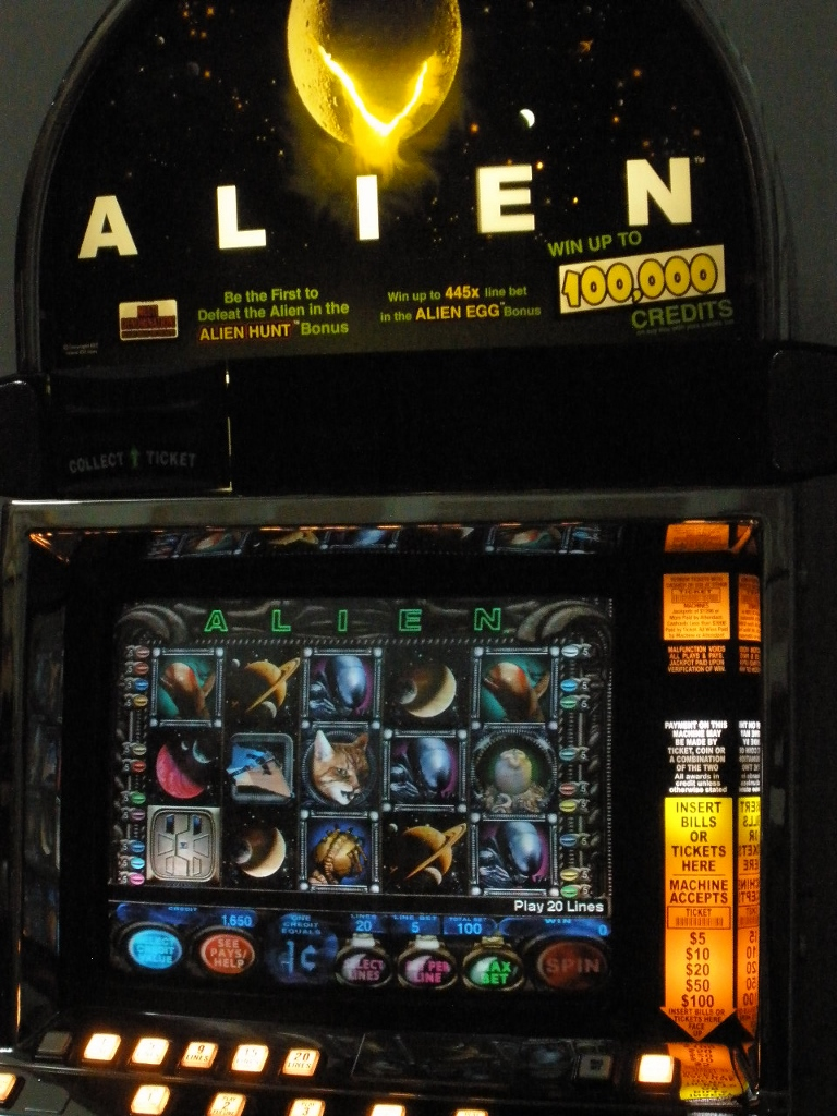 Alien Slot Machine For Sale