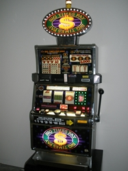 IGT BIG TIMES PAY WITH 4th BONUS REEL S2000 SLOT MACHINE AND LIGHTED TOPPER