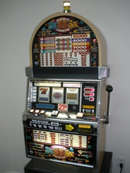 IGT DOUBLE 3X 4X 5X TIMES PAY FIVE LINE S2000 SLOT MACHINE