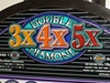 IGT DOUBLE 3X4X5X DIAMOND S2000 SLOT MACHINE WITH LIGHTED TOPPER -