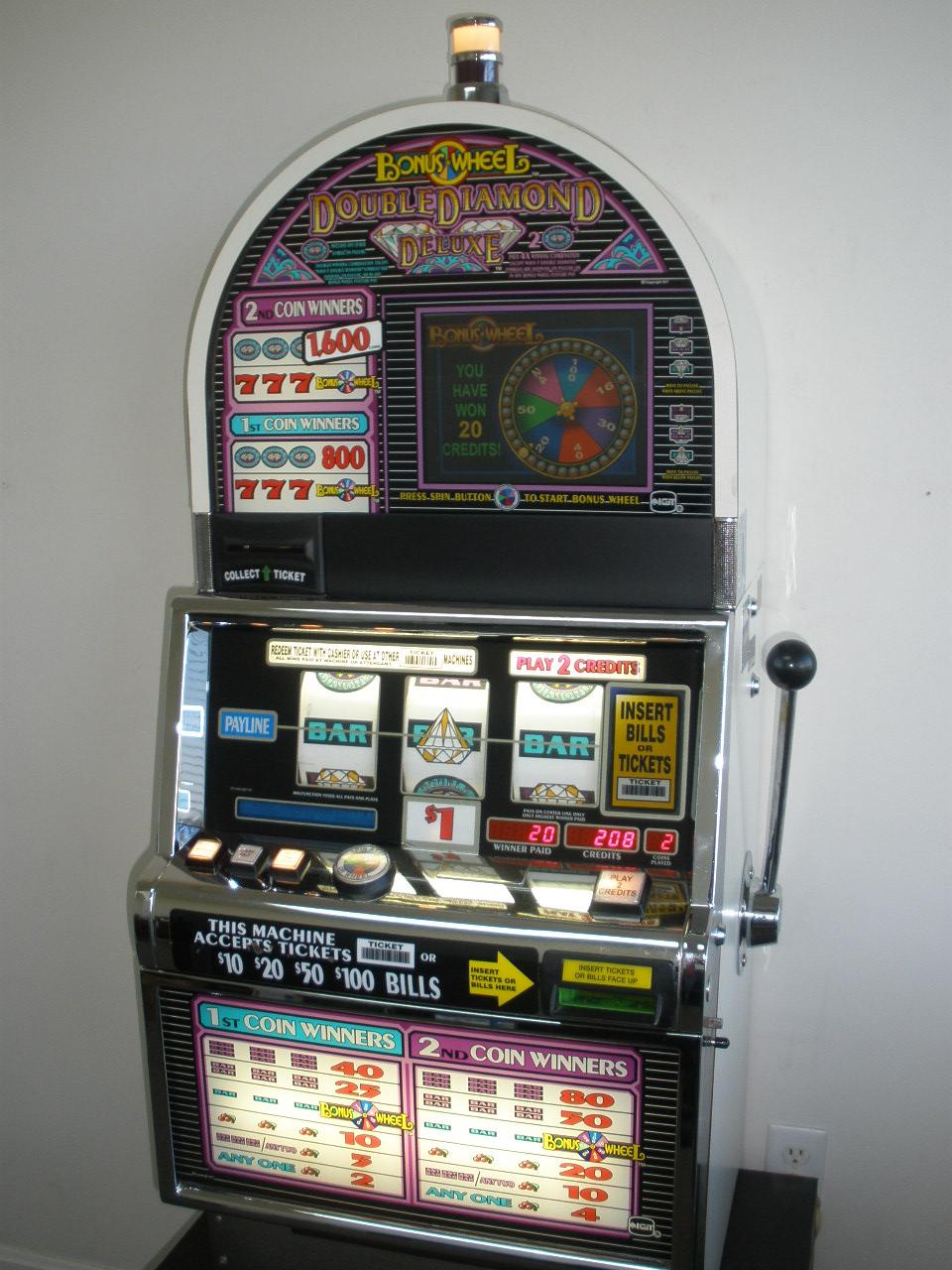 Double diamonds slot machines starmageddon 2 game