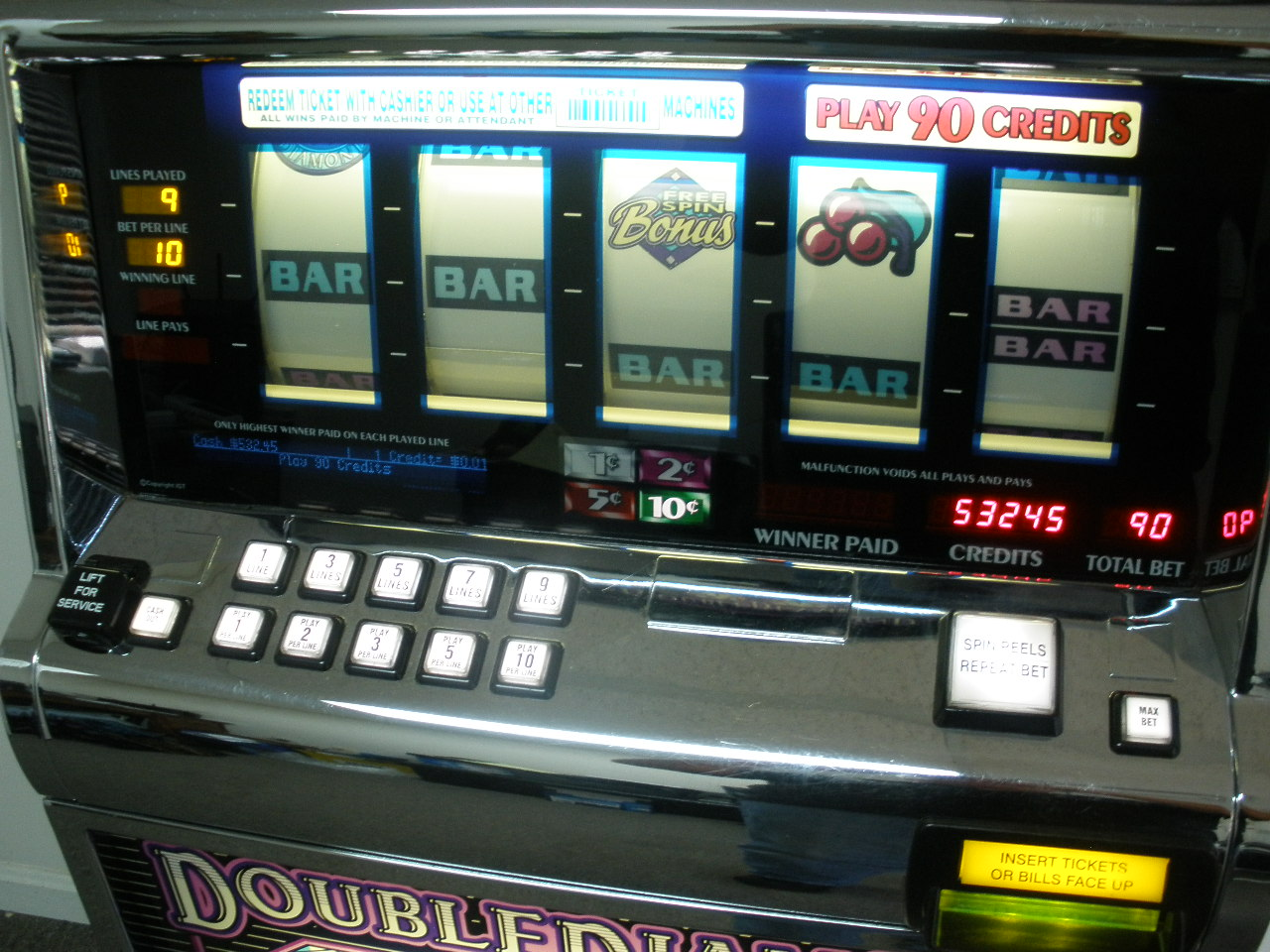 Five Reel Slot Machines