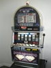 IGT DOUBLE DIAMOND FIVE REEL S2000 SLOT MACHINE WITH FREE SPIN BONUS -