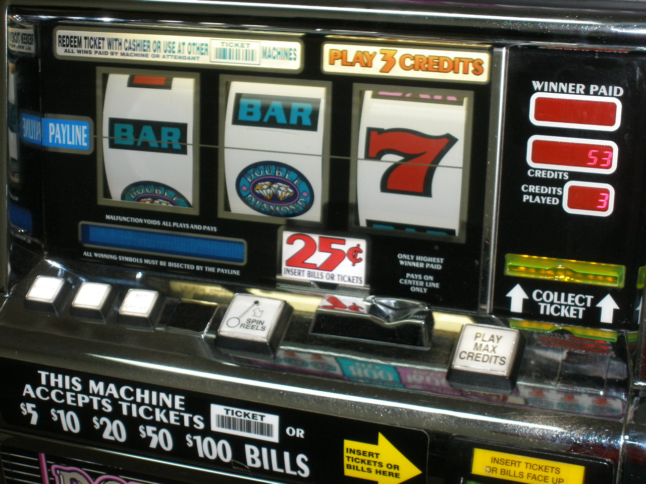 Double Diamond Slot Machines For Sale