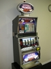 IGT DOUBLE DIAMOND RUN FIVE REEL WITH LIGHTED TOPPER AND FREE GAME BONUS -