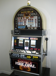 IGT DOUBLE FIRE OPAL MULTI WAY WIN S2000 SLOT MACHINE