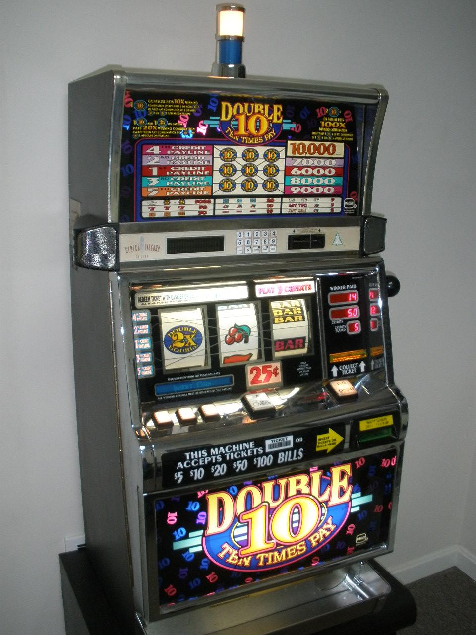 Ten Times Pay Slot Machine