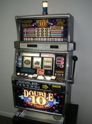 IGT DOUBLE TEN TIMES PAY FIVE LINE S2000 SLOT MACHINE