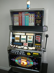 IGT FIVE TIMES PAY S2000 FLAT TOP SLOT MACHINE
