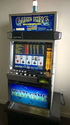 IGT GAME KING 6.2 MULTI GAME VIDEO POKER with LCD TOUCHSCREEN MONITOR (BLUE GLASS) - 77 GAMES