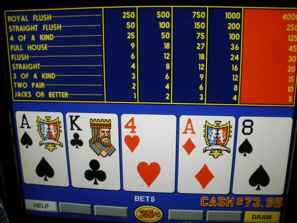 Igt Game King 4 3 Video Poker Multi Game With Lcd