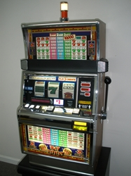 IGT HOT PEPPERS THREE CREDIT S2000 SLOT MACHINE