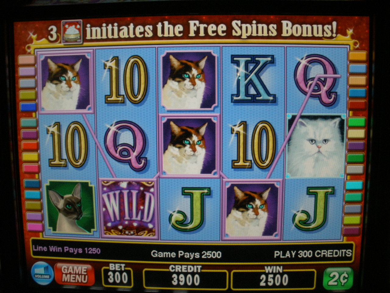 Igt Kitty Glitter O44 Video Slot Machine With Lcd Touchscreen