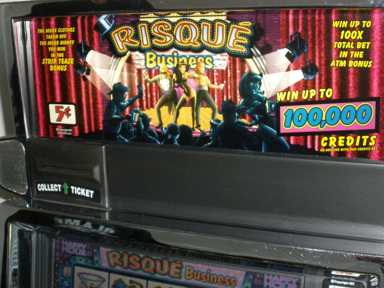 Strip slot credits