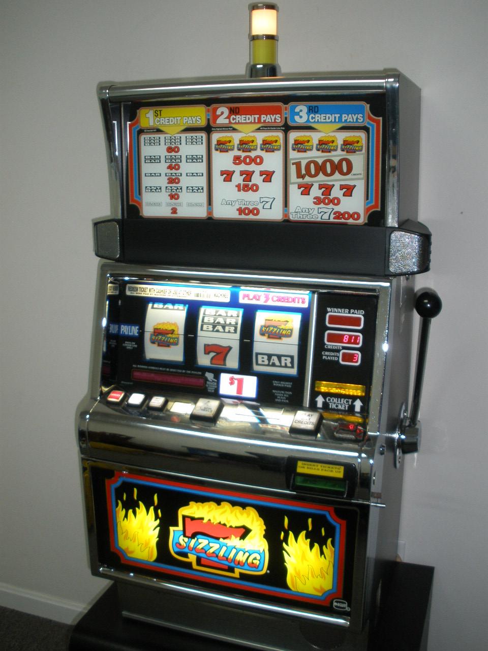 Sizzling Slot Machine Game