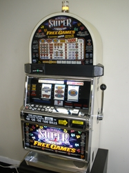 IGT SUPER TIMES PAY FREE GAMES MULTI LINE S2000 SLOT MACHINE