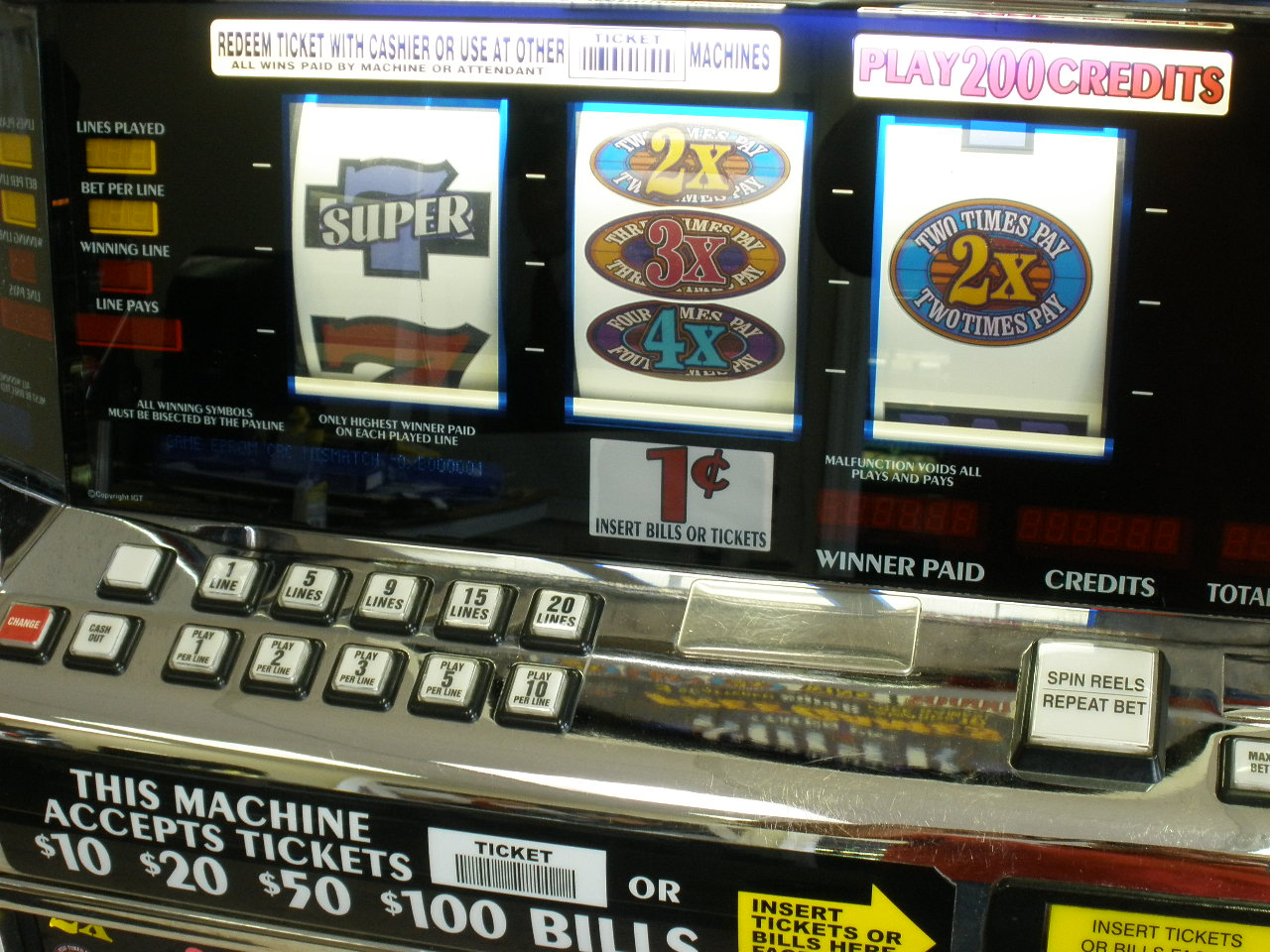 Free Multi Line Slot Machines