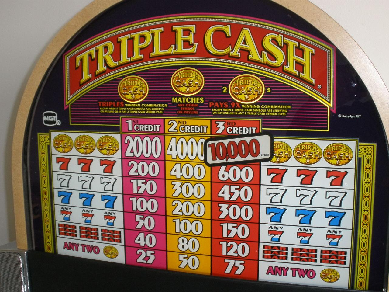 Cash Slot Machines