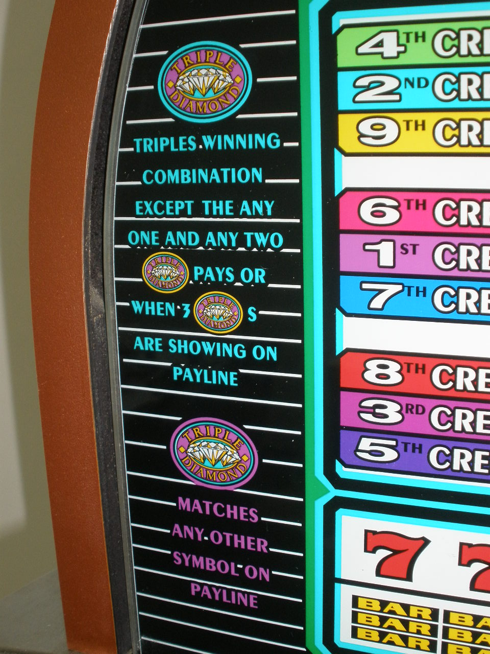 Triple play video poker machine for sale