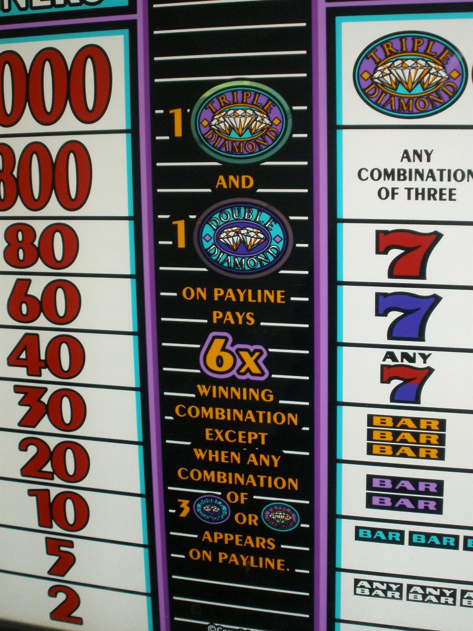 Double Diamond Slot Machines For Sale