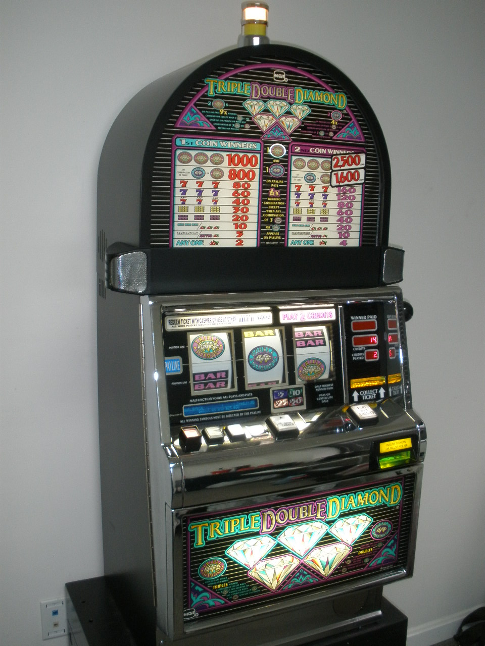 Triple Double Diamond Slot Machine For Sale