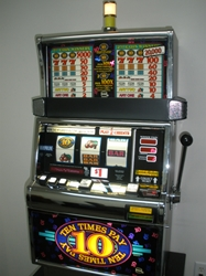 IGT TEN TIMES PAY FLAT TOP S2000 SLOT MACHINE