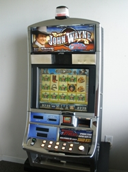WMS JOHN WAYNE VIDEO SLOT MACHINE