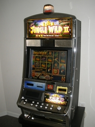 WMS JUNGLE WILD II VIDEO SLOT MACHINE