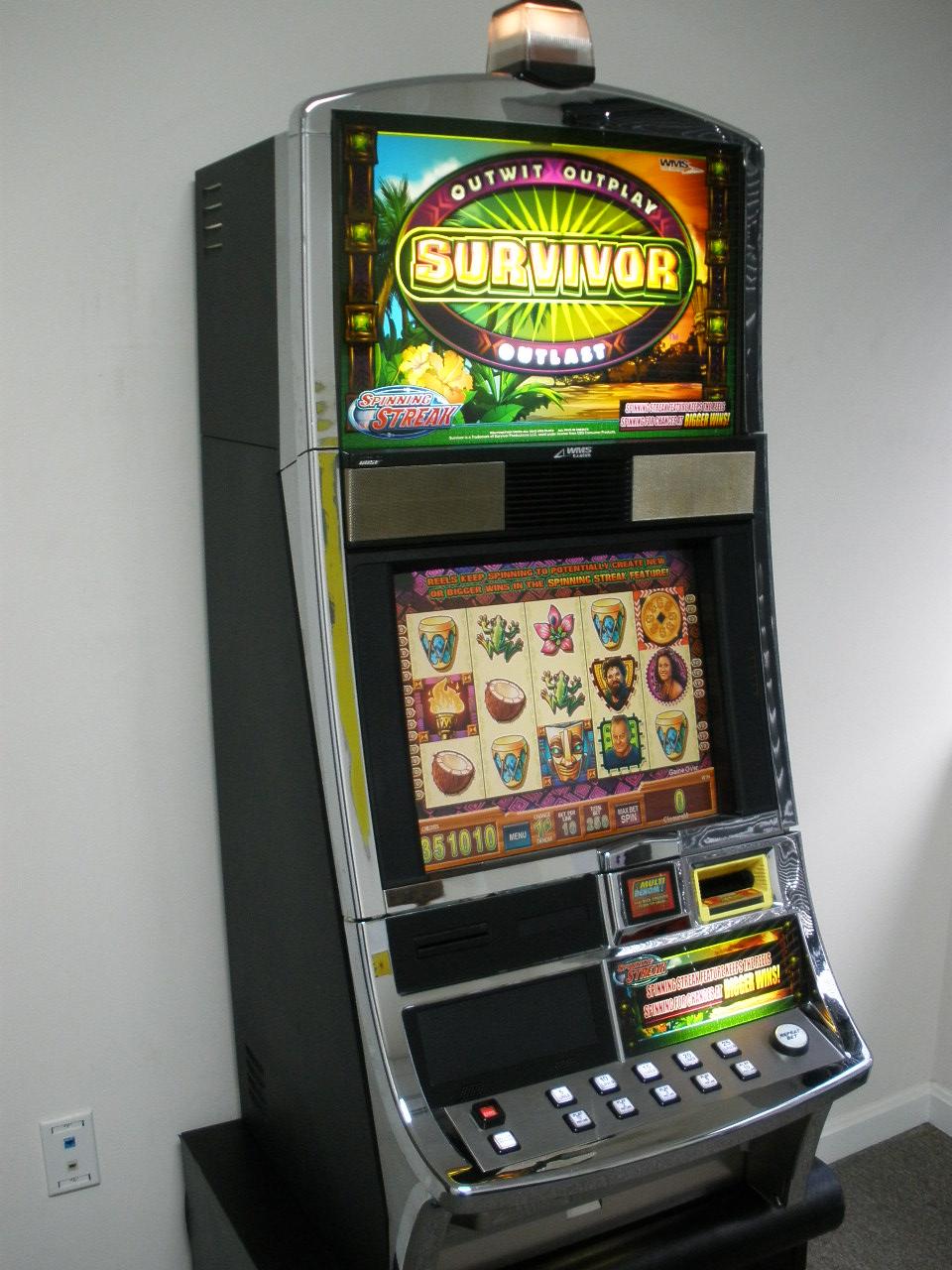 Survivor slot machine in las vegas