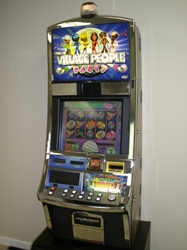 WMS VILLAGE PEOPLE PARTY VIDEO SLOT MACHINE