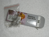 #86 Wedge Light Bulbs – Package of 10